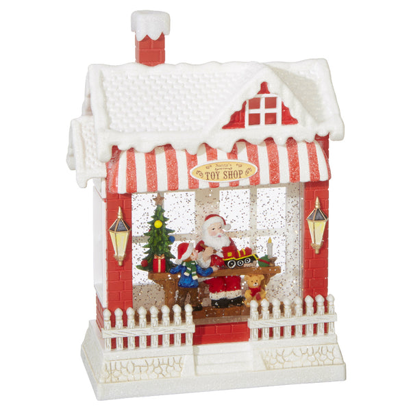 Santa's Toy Shop Snowglobe Workshop