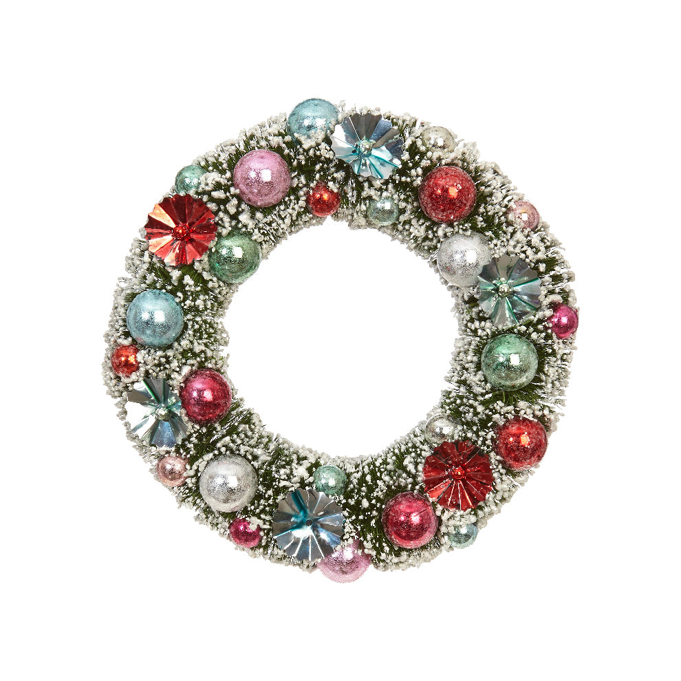 Wreath Ornament with Christmas Balls