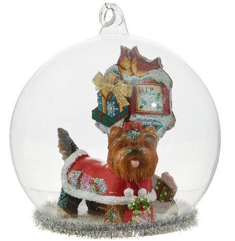 Dog Dome Ornament