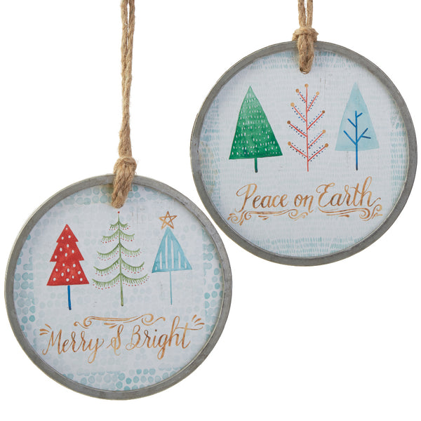 Tree Disc Ornaments