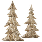 Gold Tabletop Trees