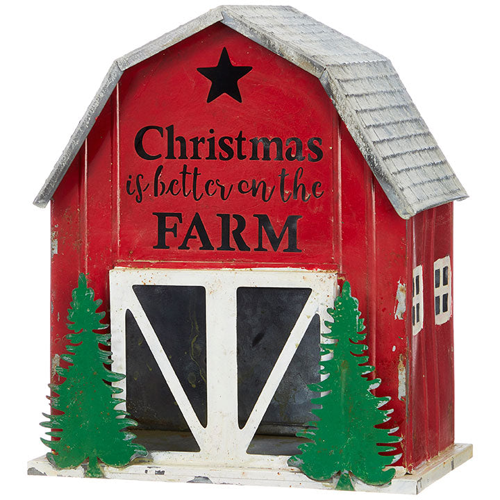 Farmhouse Barn Tabletop Decor