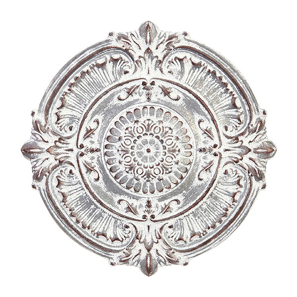 Round Metal Medallion Wall Art
