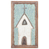 Hammered Iron Church Wall Art