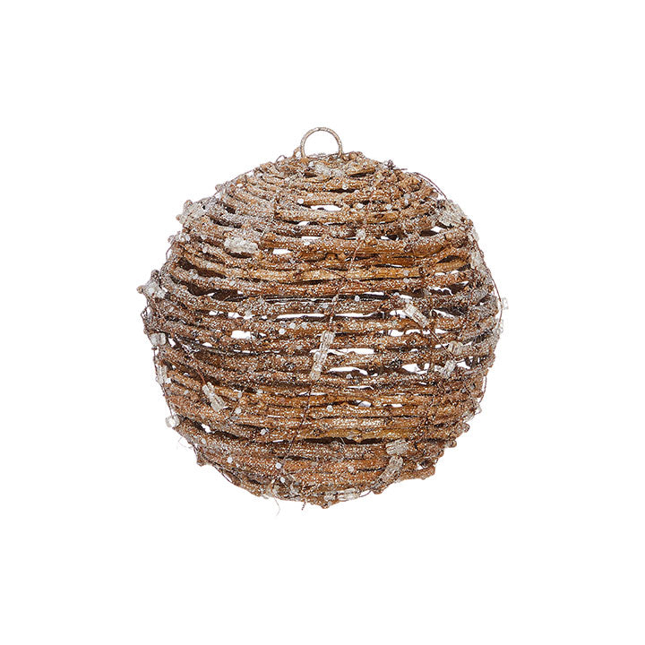 Icy Vine Ball Ornament
