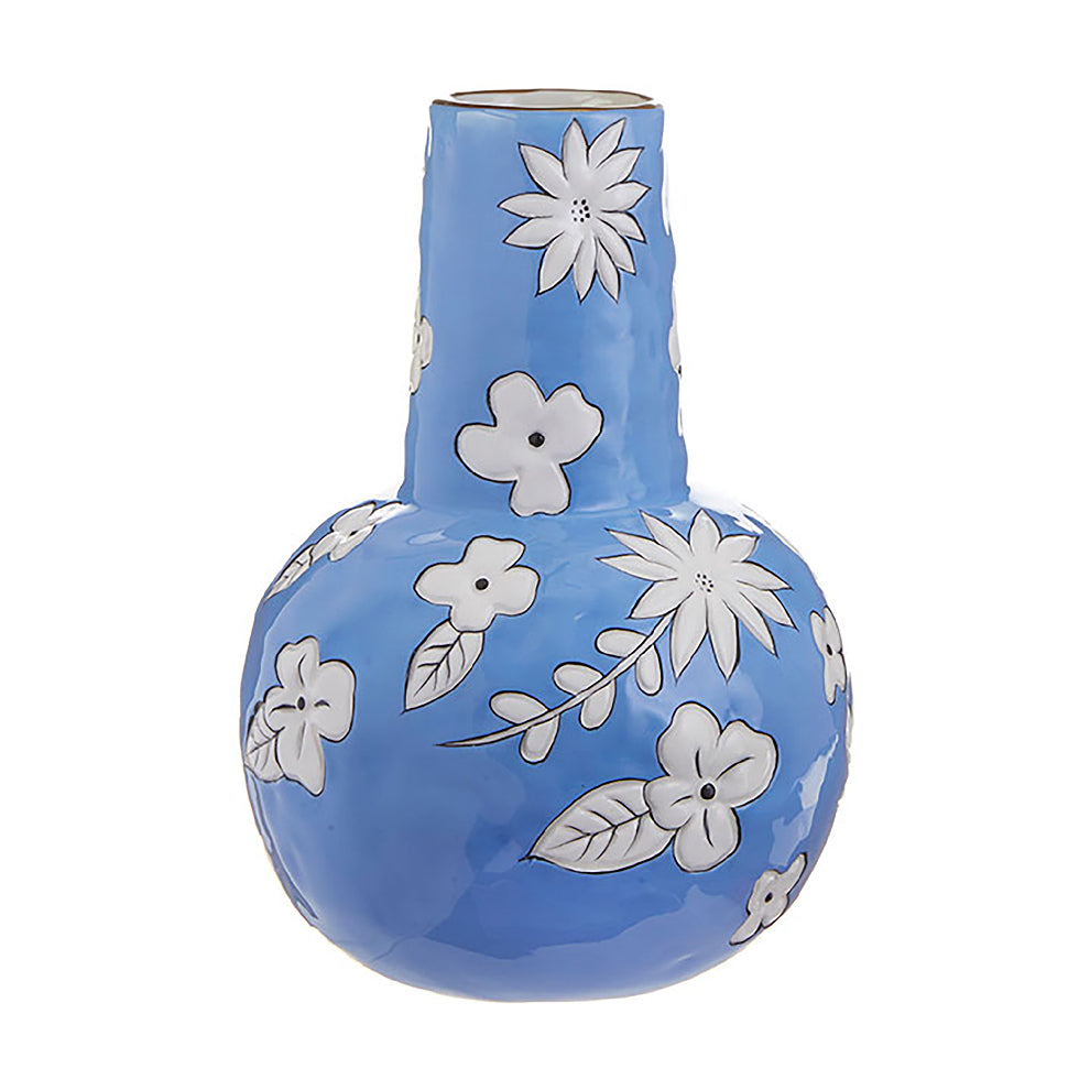 Best of Blue Floral Vase