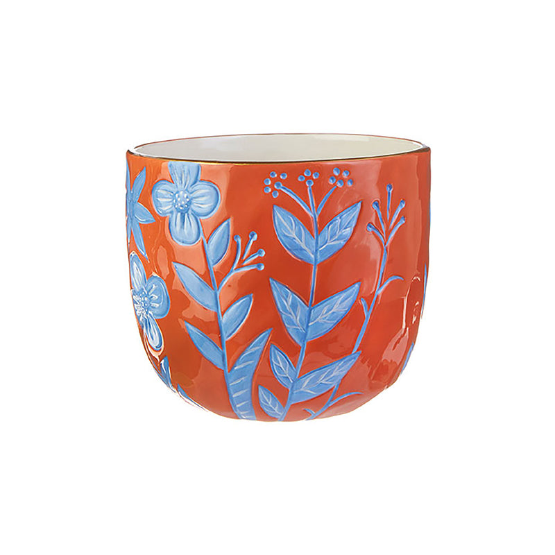 Bold and Bright Flower Pot