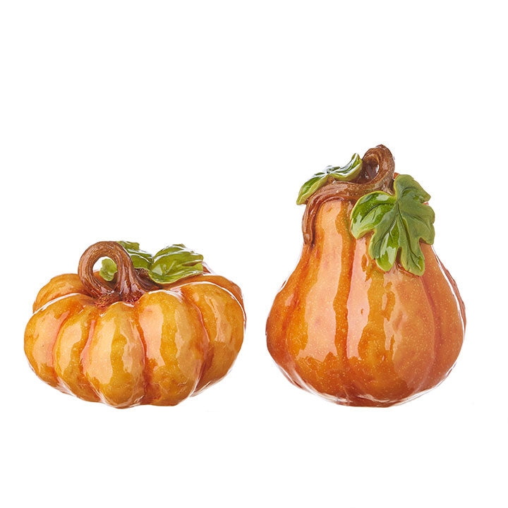 Shiny Orange Pumpkins