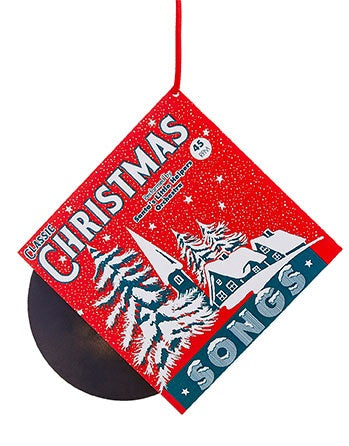 Vintage Record Ornaments