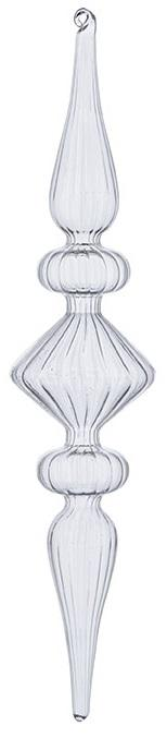 Swirl Finial Ornament