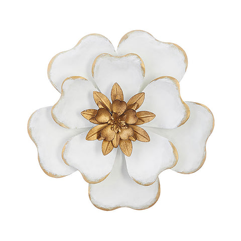 Medium Metal Flower Wall Decor