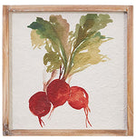Framed Vegetables Wall Art