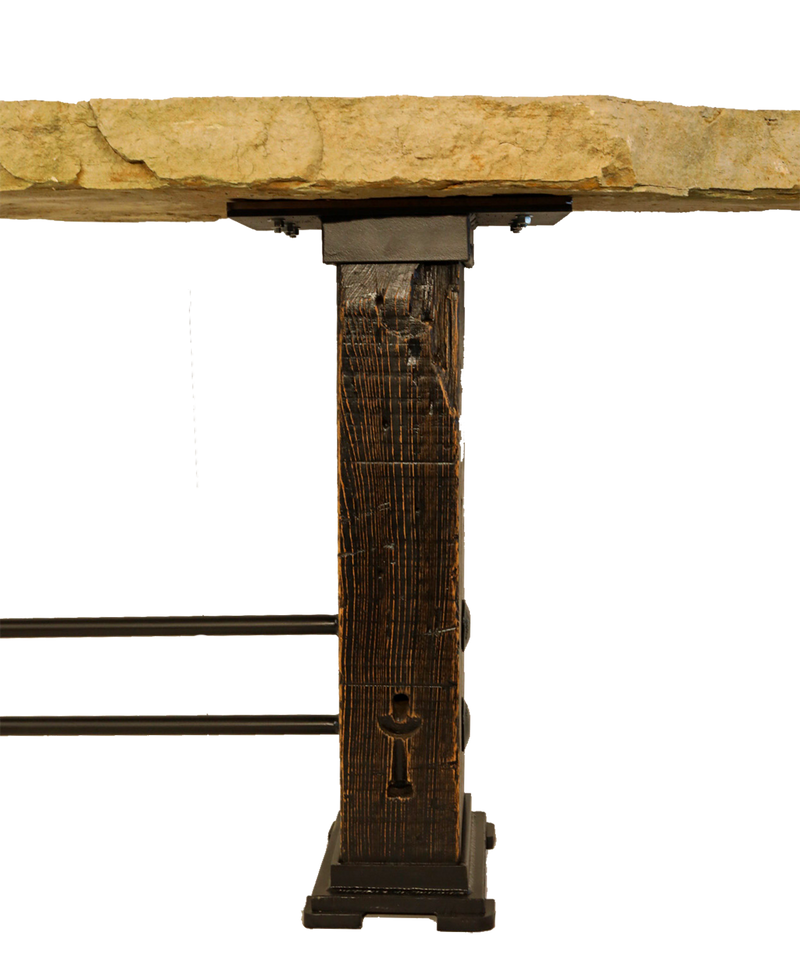 Ozark Stone Console/Counter Height Bar