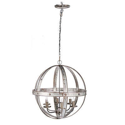 Iron Sphere Chandelier
