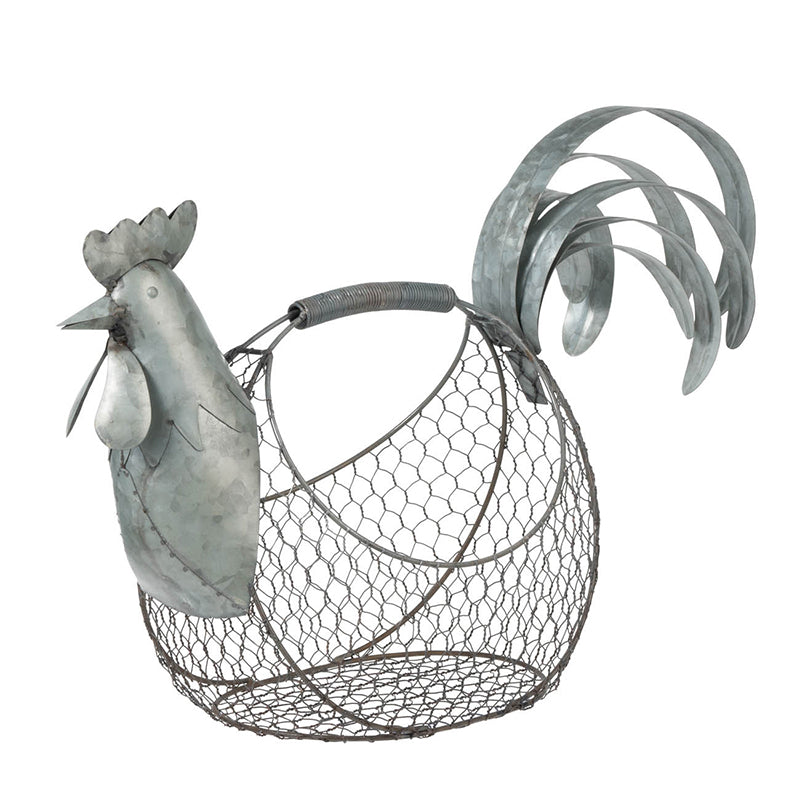 Wire Rooster Basket