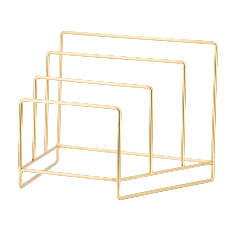 Gold Plate Rack
