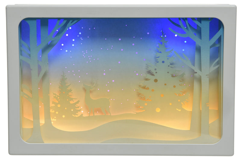 LED Winter Scene