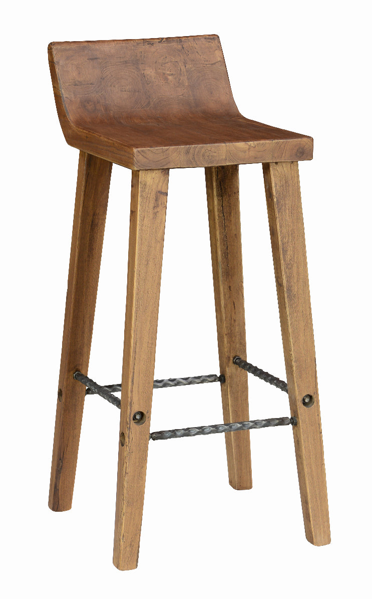 Arthur Low-Back Bar Stool