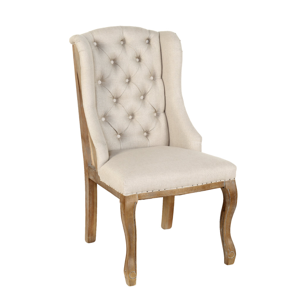 Layette Deconstructed Wingback Chair