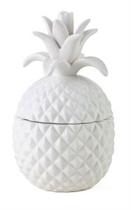 Welcome White Pineapple Jar