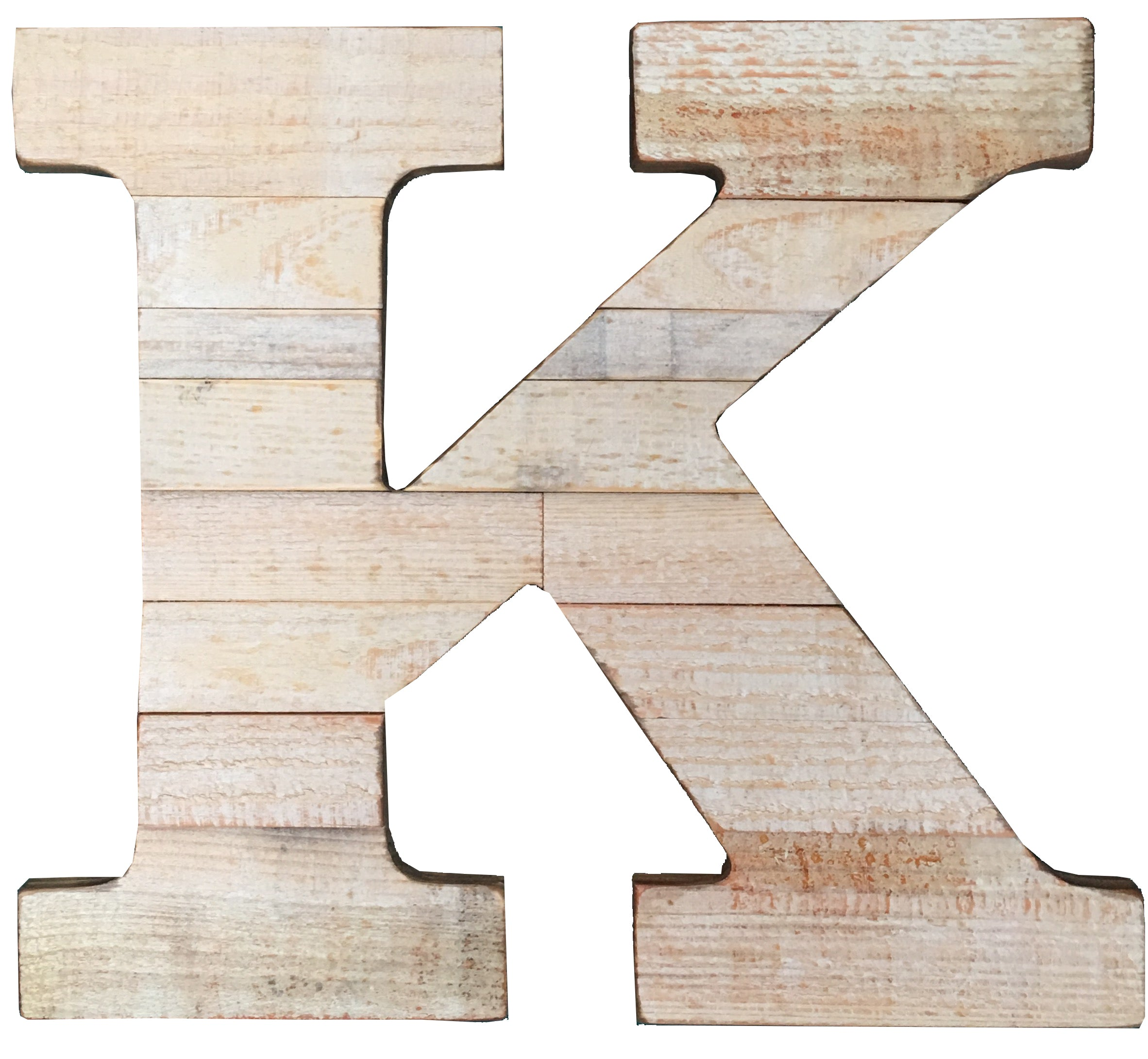 Pine Wood Letter K – Paul Michael Company