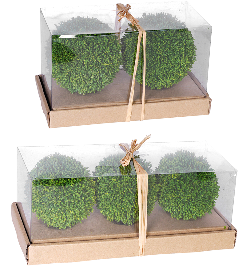 Packaged Moss Balls