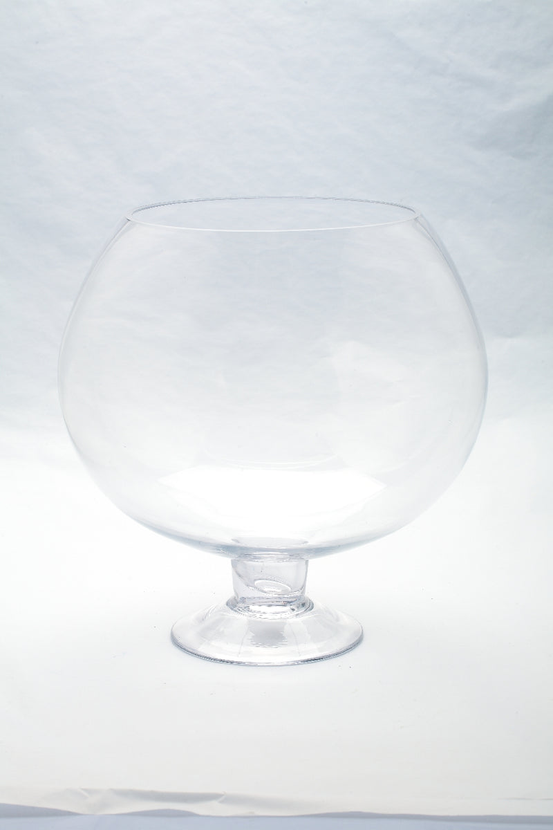 Glass Fish Bowl Container