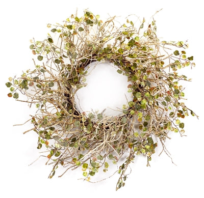 Spring Birch Branch Wreath