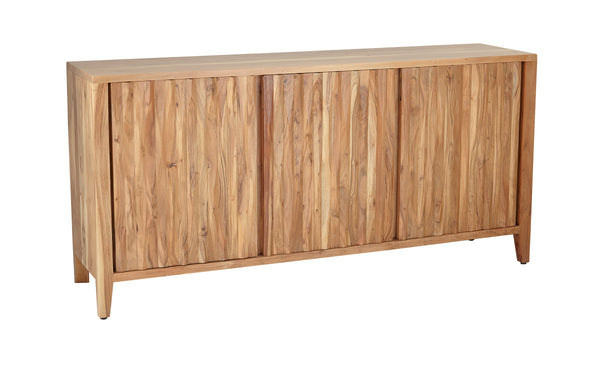 Rustic Three-Door Sideboard