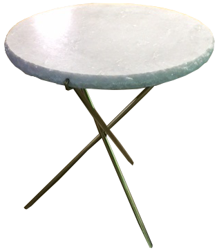 Marble Top Tripod Side Table