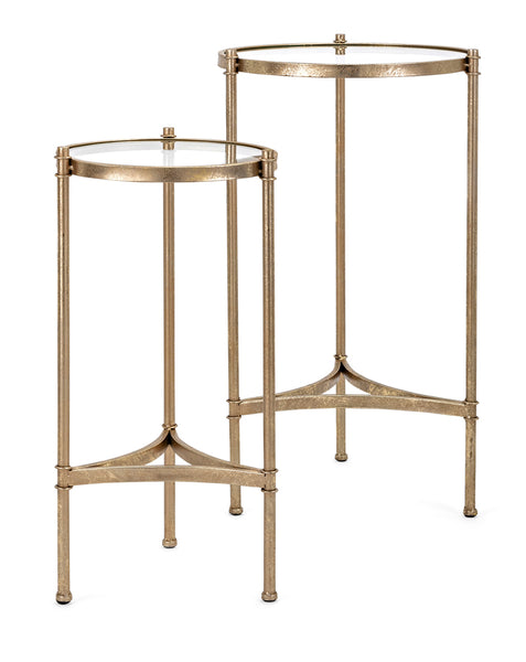 Vanna Gold Accent Tables