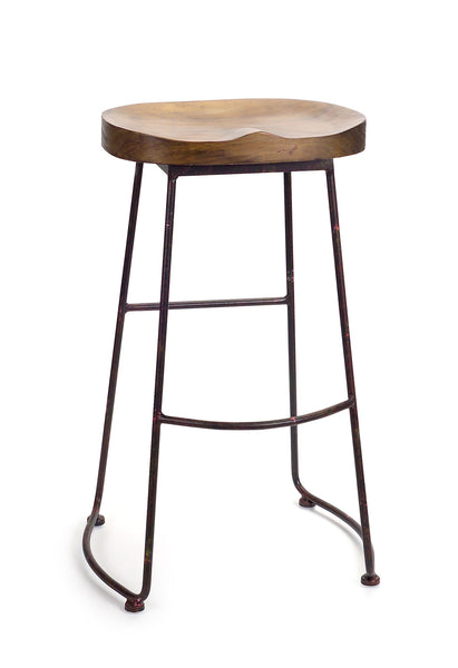 Brandi Bar Stool 30.5in - Paul Michael Company