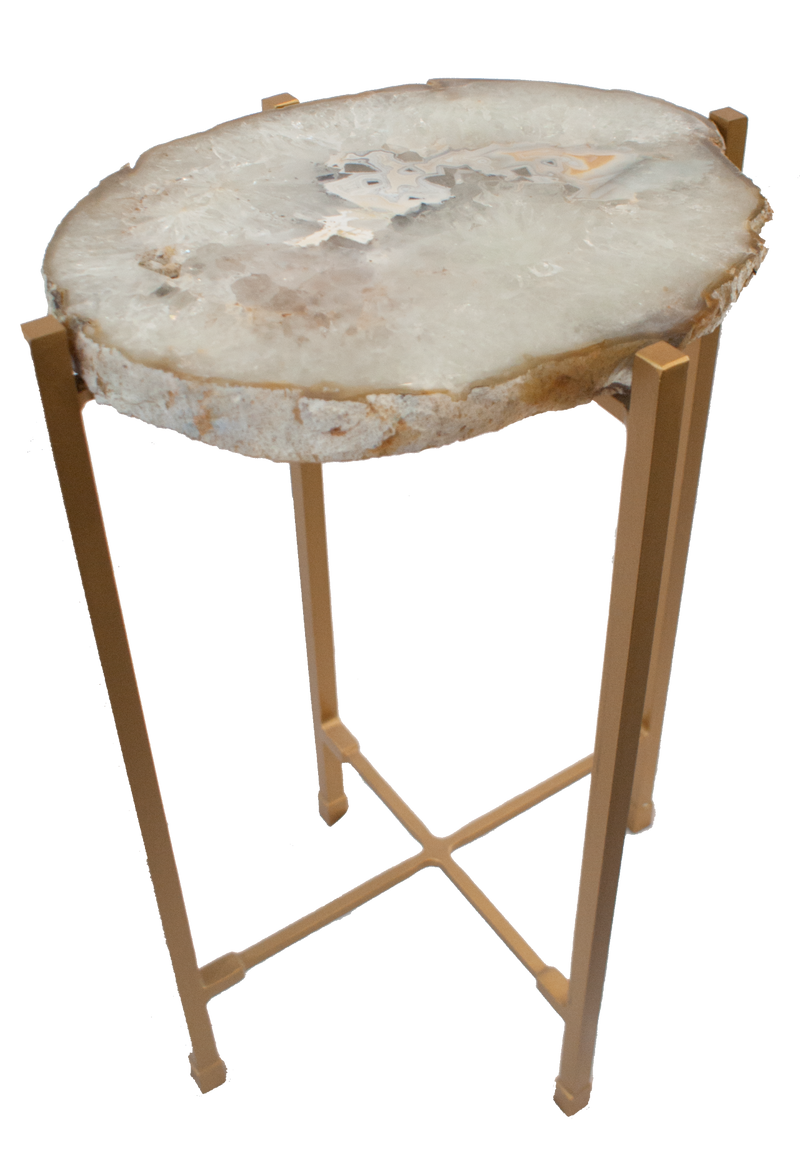 Agate Slab Side Table