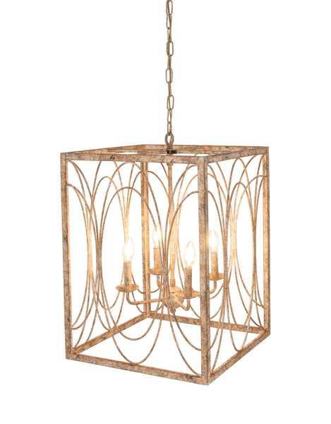 Eliana Caged Chandelier