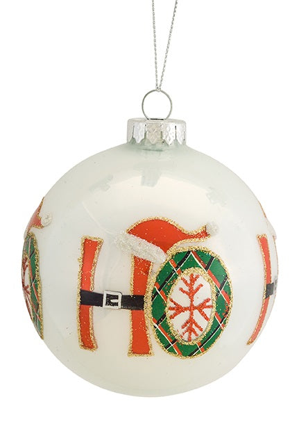 Ho Ho Ho Ornament