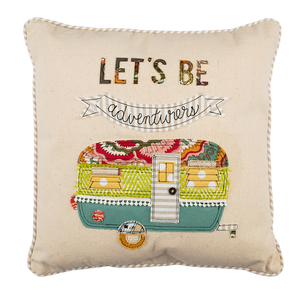 Lets Be Adventurers Pillow