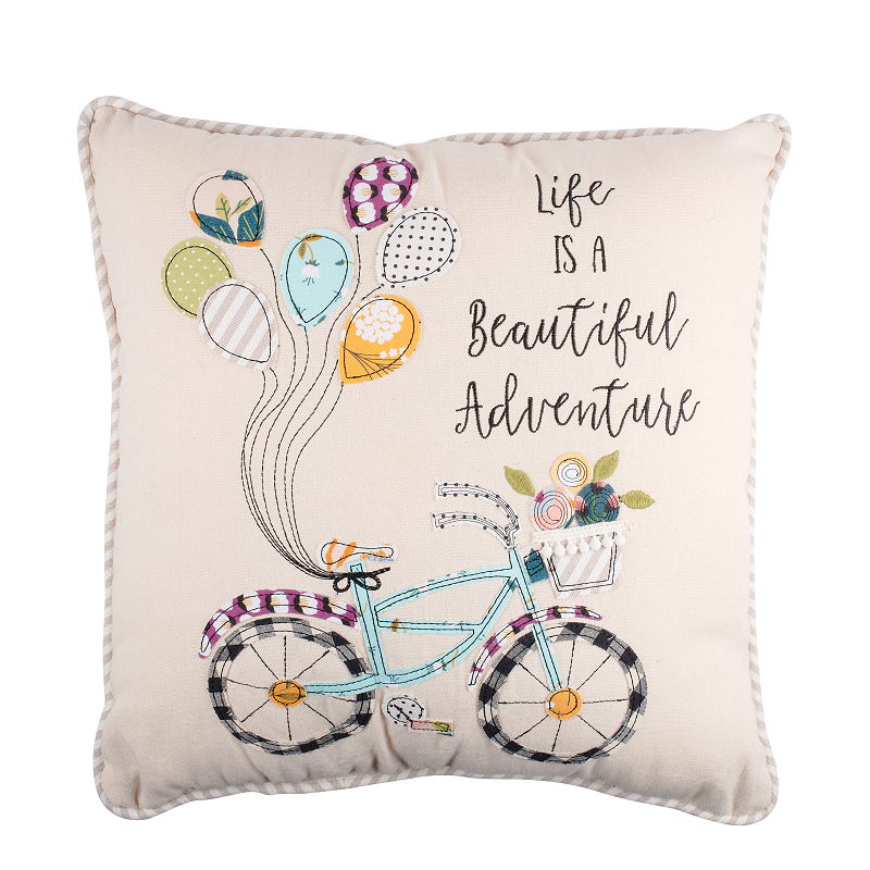 Life is A Beautiful Adventure Pillow