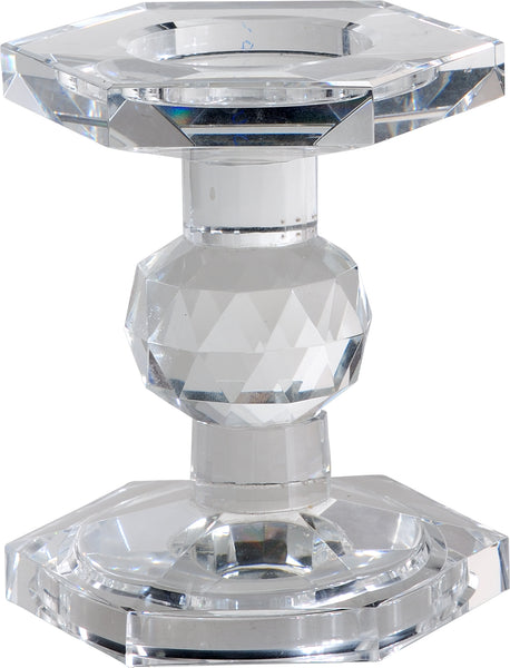 Small Crystal Candleholder