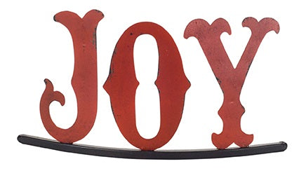 Joy Christmas Sign