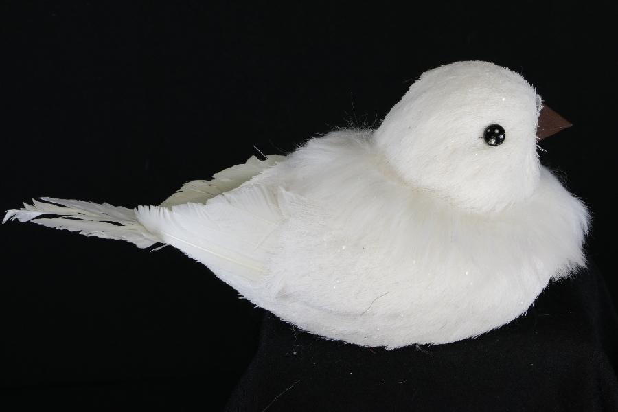 Winter Snow Bird Ornament