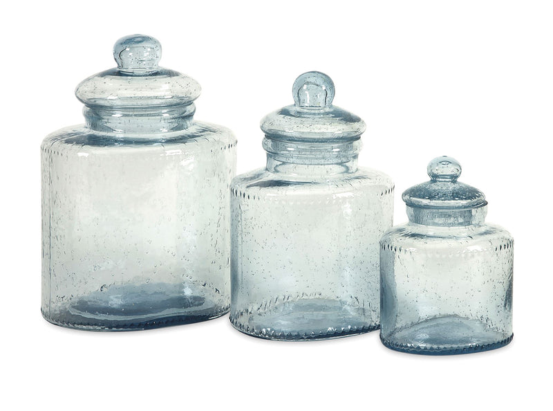 Cyrus Glass Canisters
