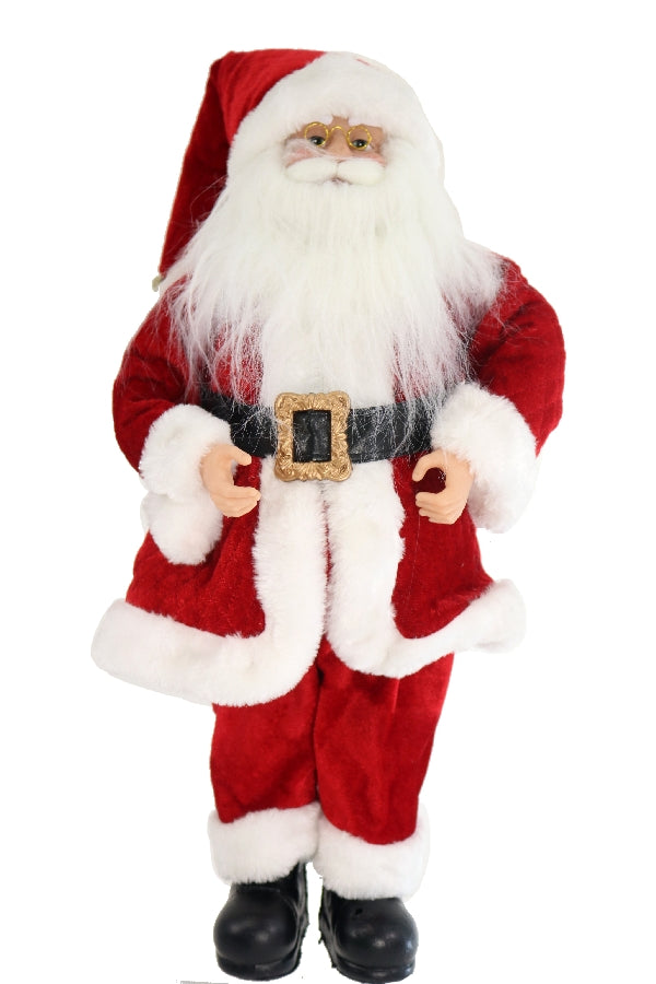 Traditional Standing Santa