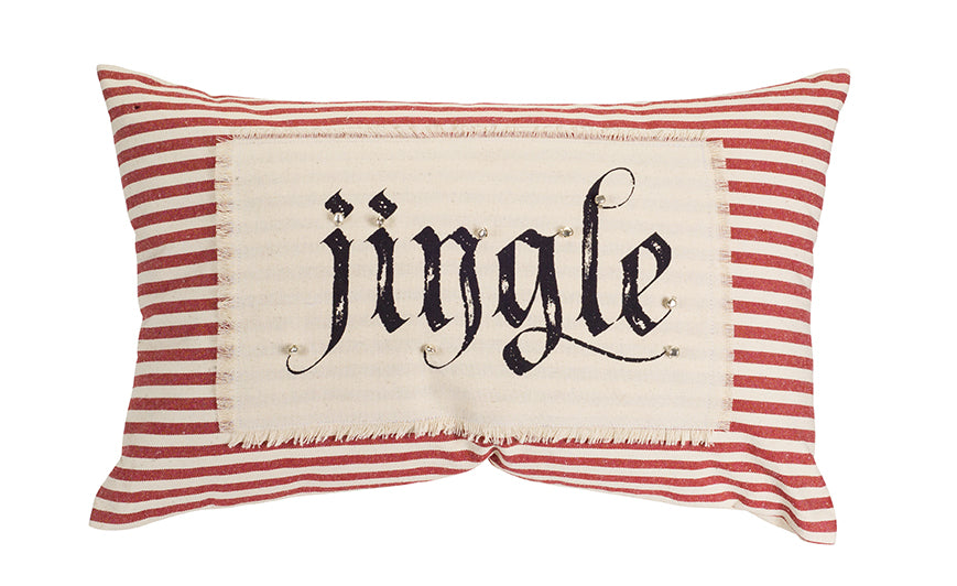 Jingle Christmas Pillow