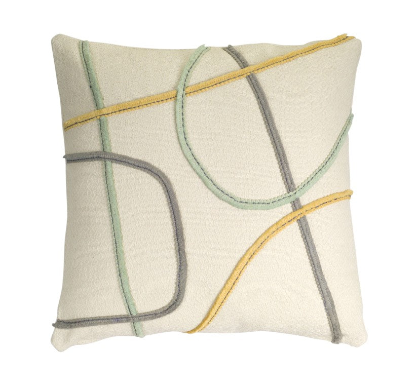 Tangled Up in You Throw Pillow