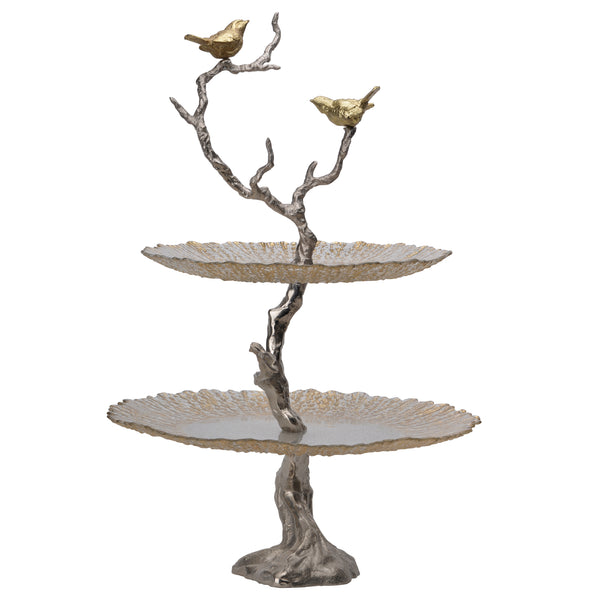 Aretha Two Tier Serving Plate