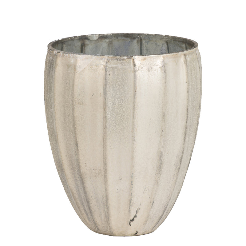 Pearlescent Glass Vase