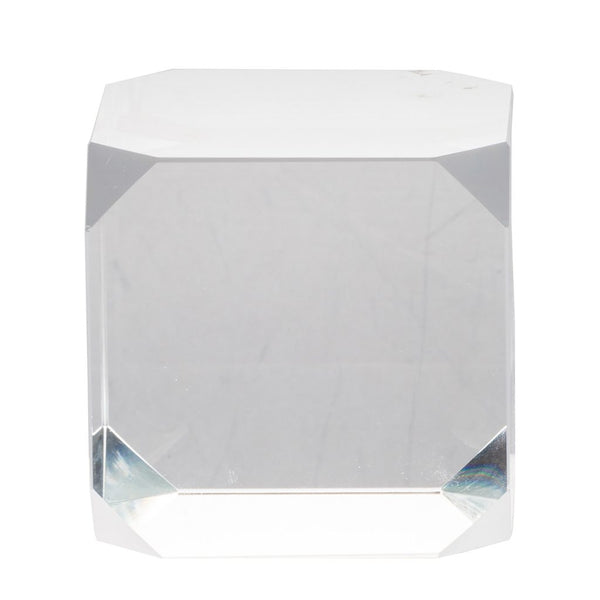 Modern Chic Glass Cube