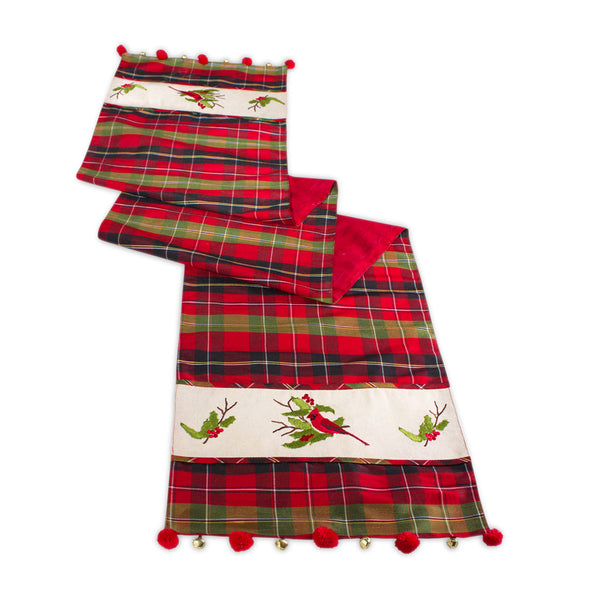 Red Cardinal Table Runner