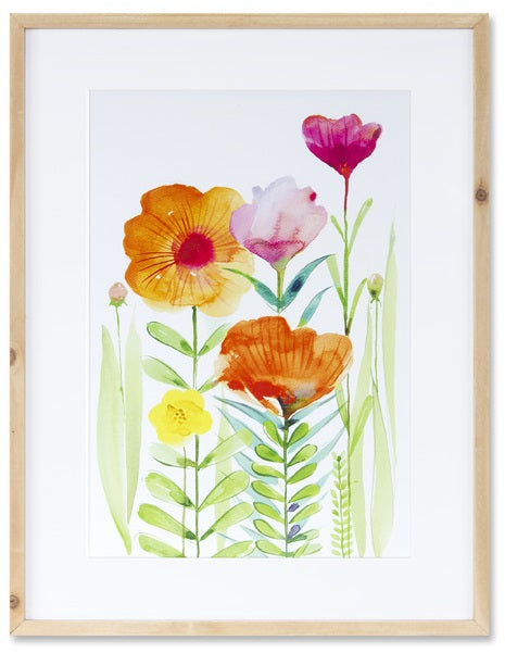Floral Watercolor Print