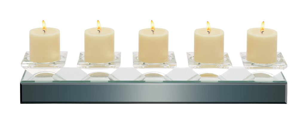 Contemporary Mirrored Votive Candleholder